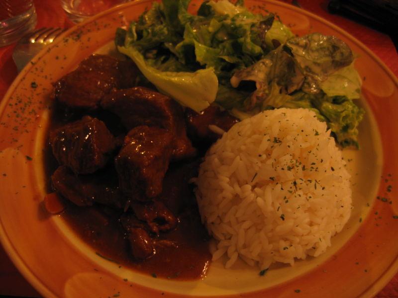 Kitchen Boeuf-bourguignon
